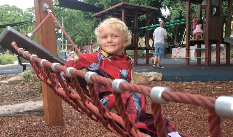 photo - queens park playground swing net