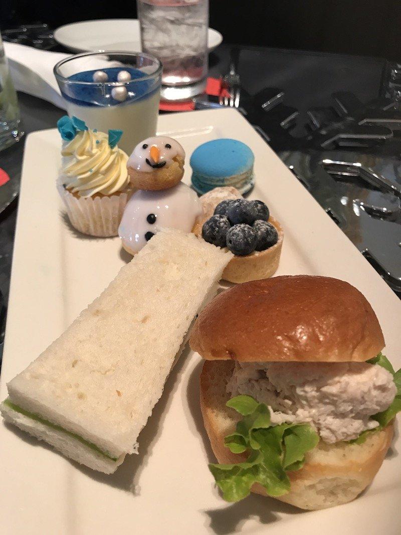 photo - sofitel sydney frozen high tea menu