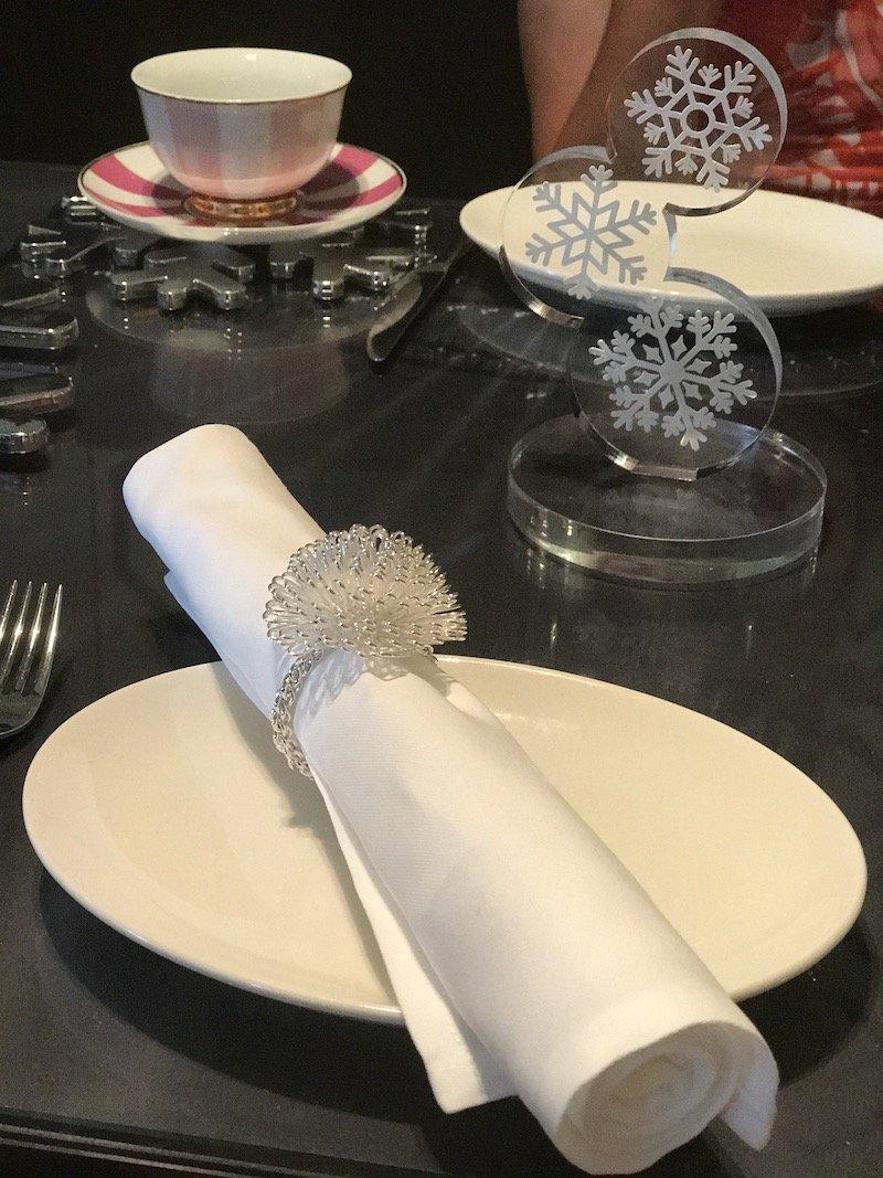 photo - sofitel sydney high tea tableware