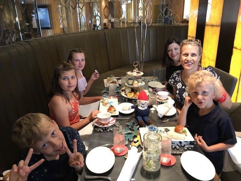 photo - sofitel sydney high tea with family