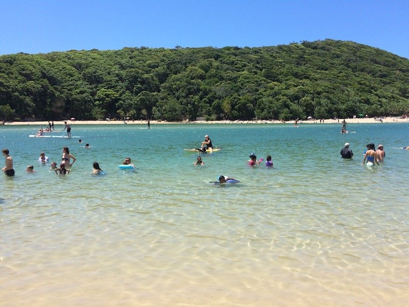photo - tallebudgera beach water
