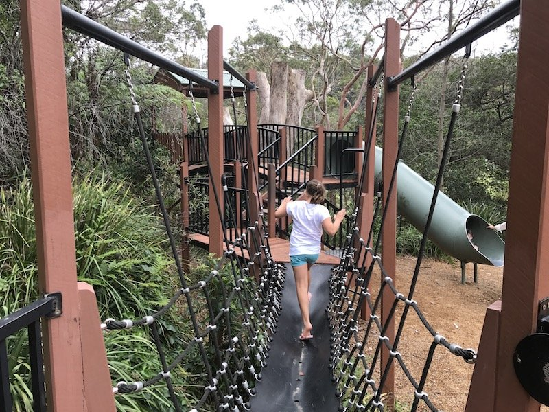 photo - tunks park cammeray climbing nets