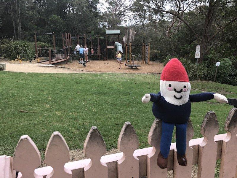 photo - tunks park playground entrance