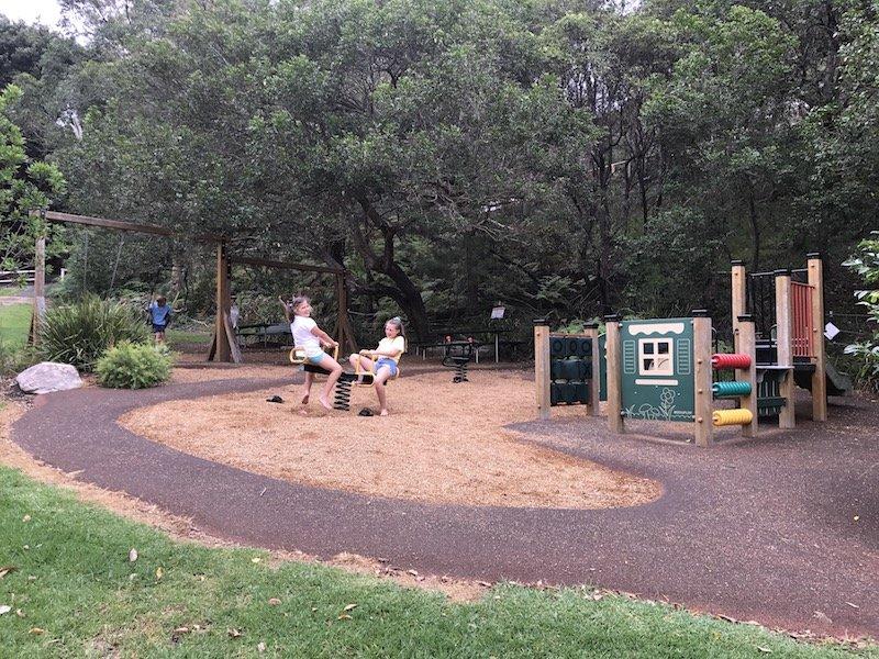 photo - playground seesaw