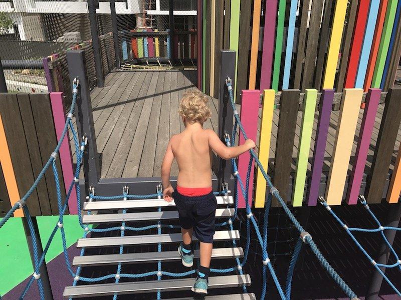 photo - wulaba park playground bridge