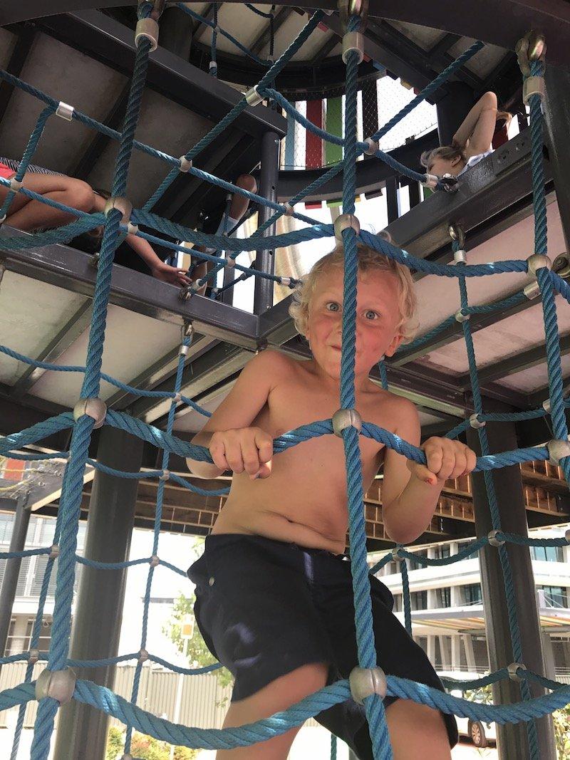 photo - wulaba park playground climbing tunnel nets copy
