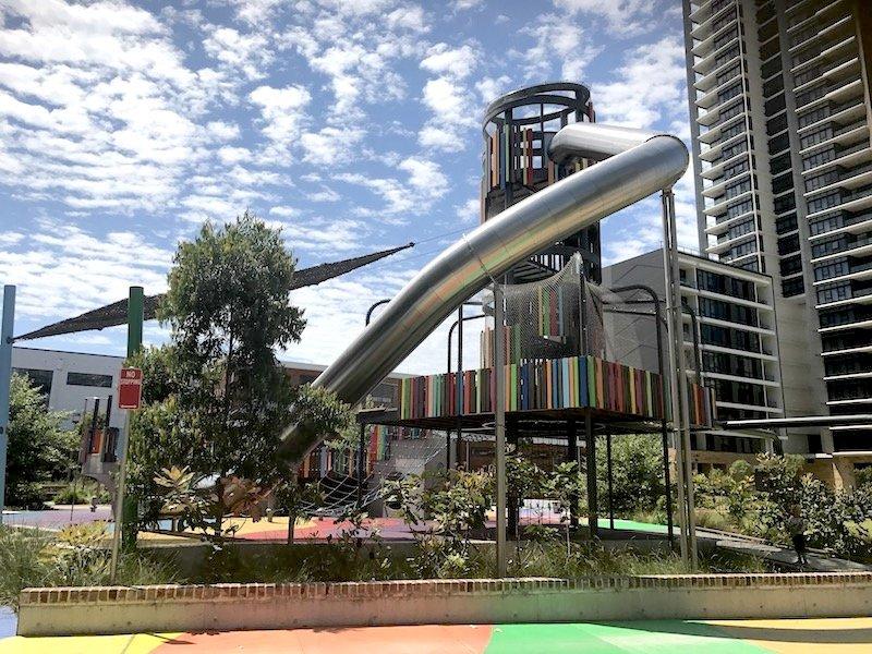 photo - wulaba park playground giant slide 800