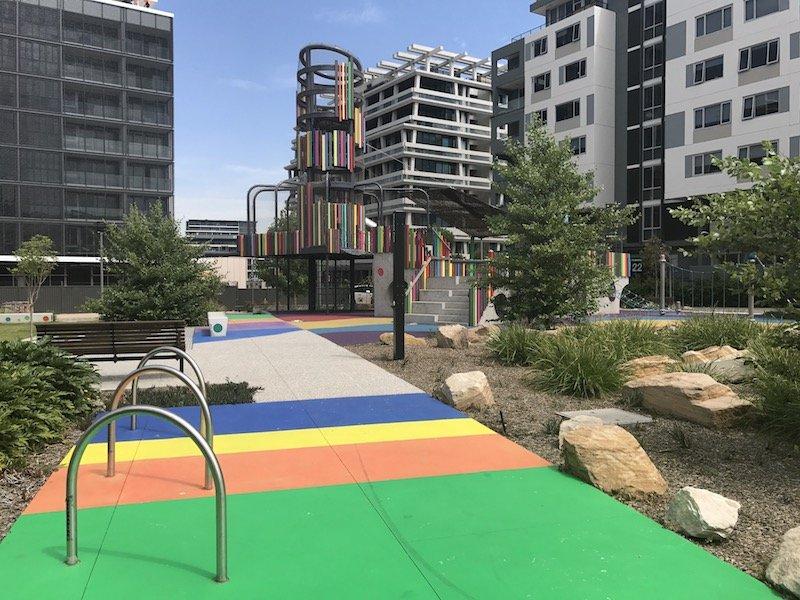 photo - wulaba park playground pathways