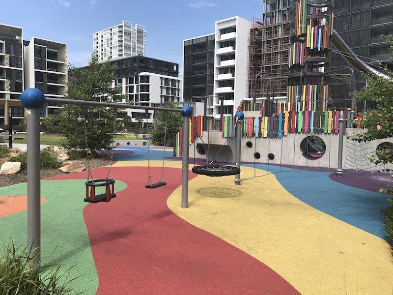 photo - wulaba park playground swings