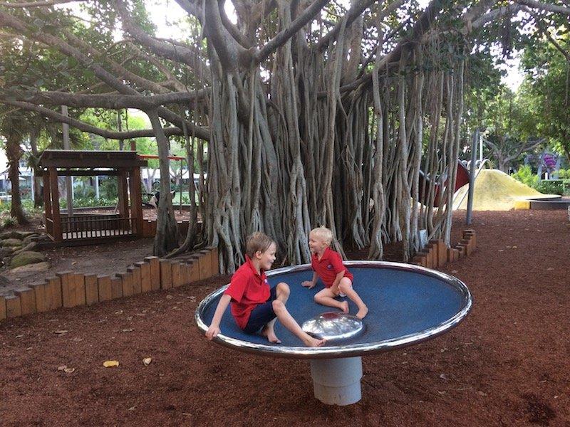 picnic island green playground equipment pic
