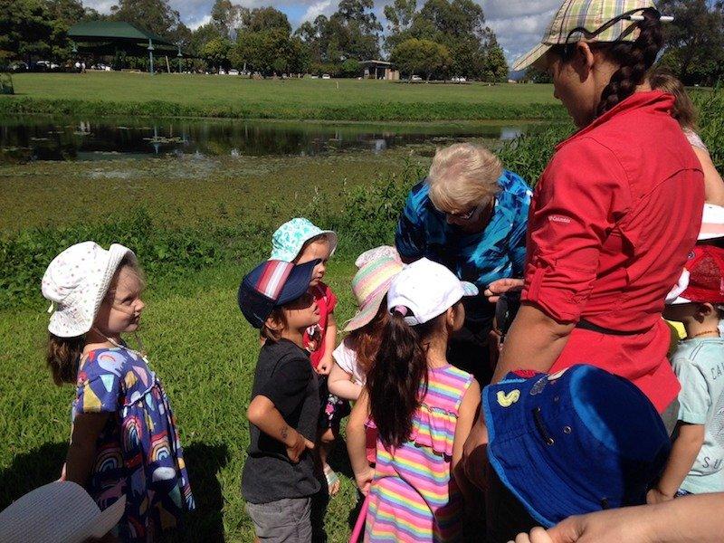 school holidays at gold coast botanic gardens