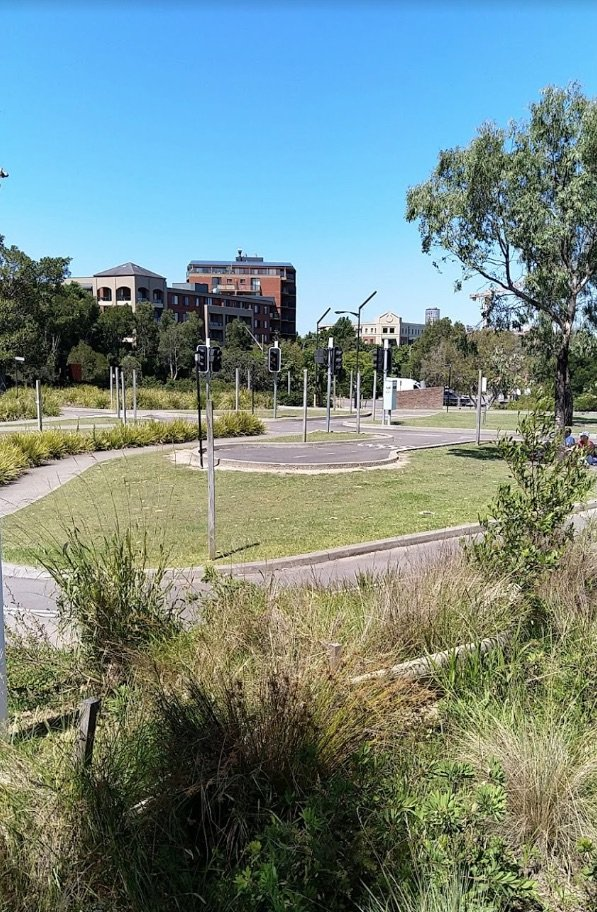sydney park cycle centre layout pic by eli algranti