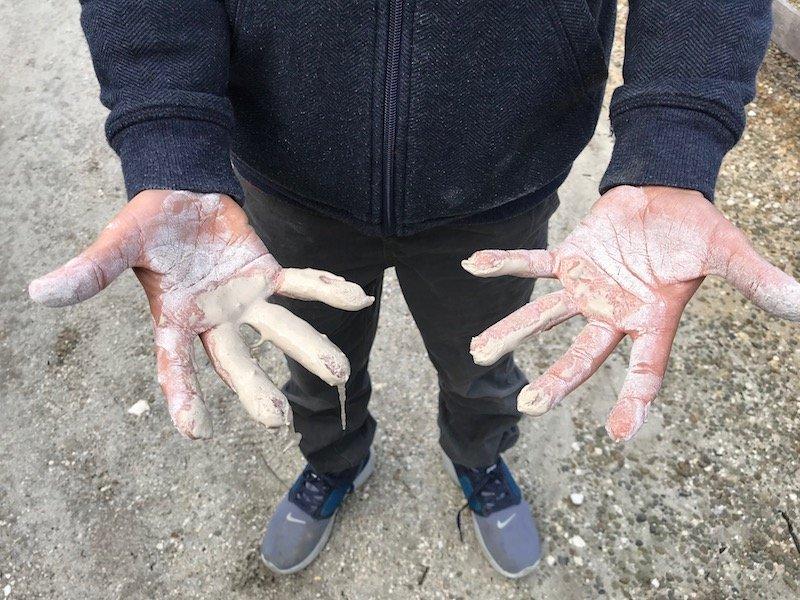 Hells Gate Rotorua goop chalk pic