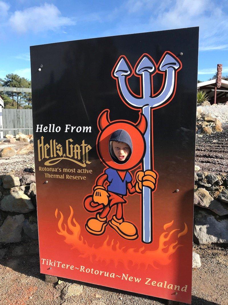 Hells Gate Rotorua kids