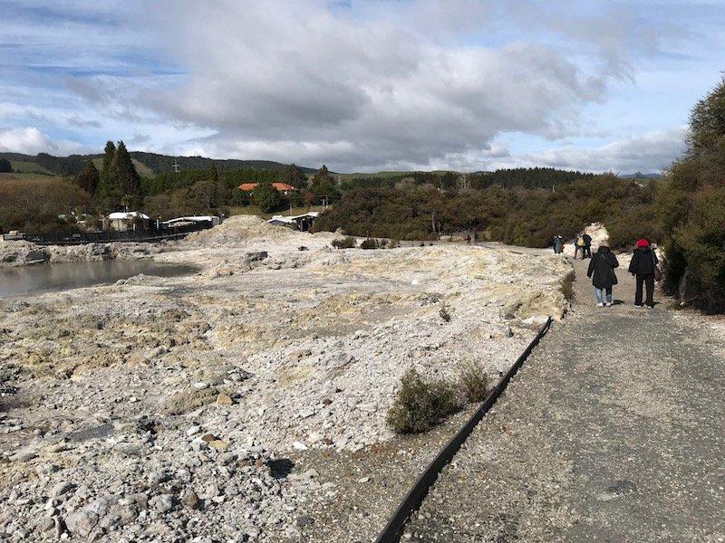 Hells Gate Rotorua return walk