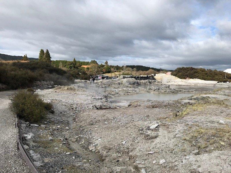 Image - Hells Gate thermal park walk after sulphur bath