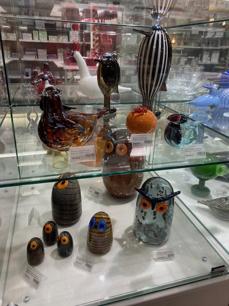 Image - Iittala outlet store finland birds