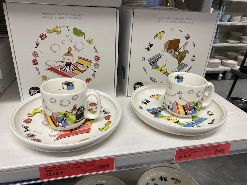 Image - Iittala outlet store finland moomin childrens set
