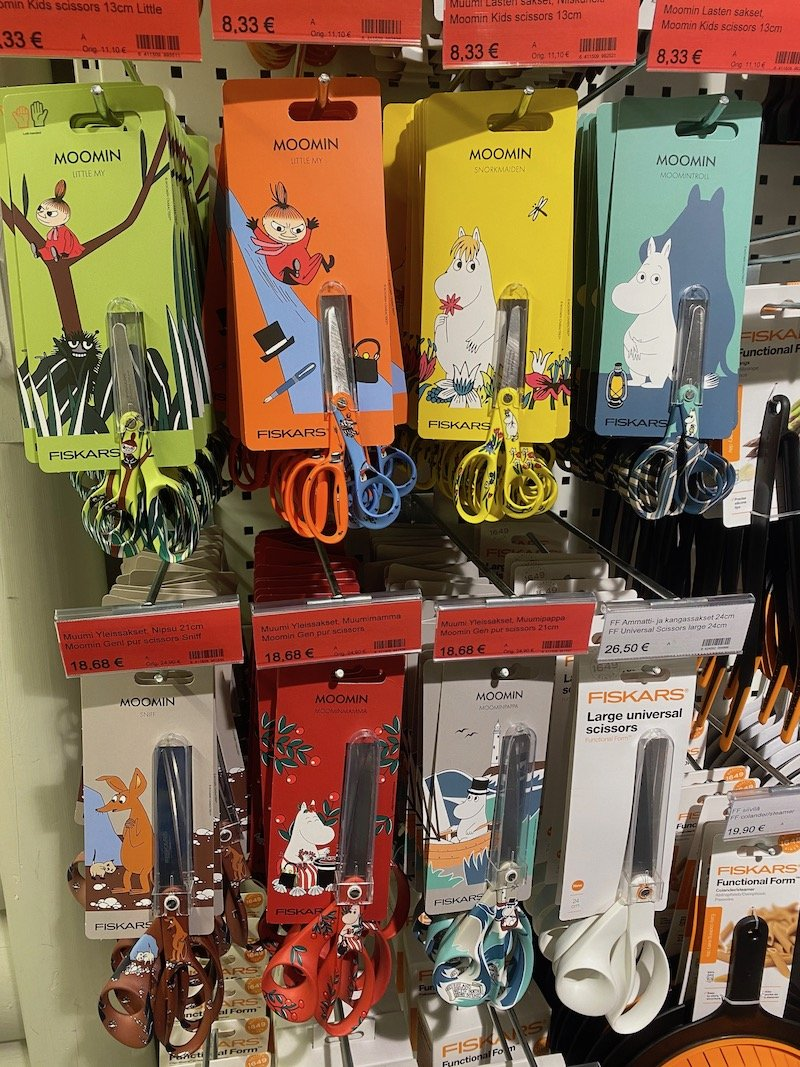 Image - Iittala outlet store finland moomin scissors
