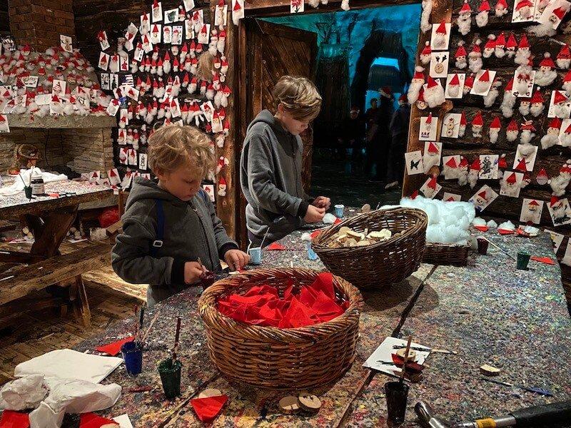 Image - Santa Park Rovaniemi Lapland craft activities