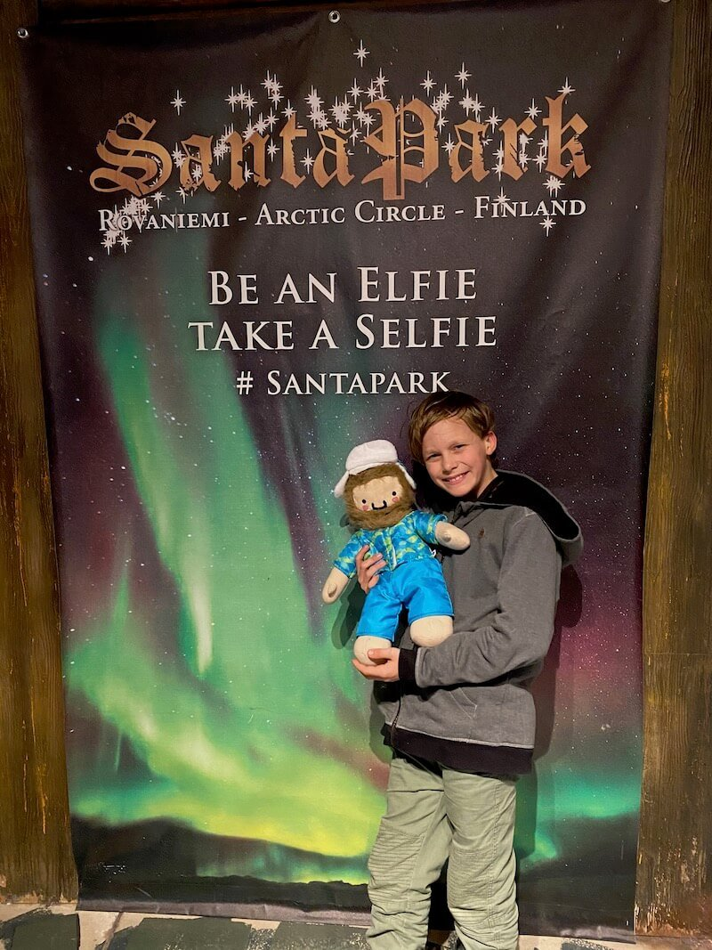 Image - Santa Park Rovaniemi elfie selfie