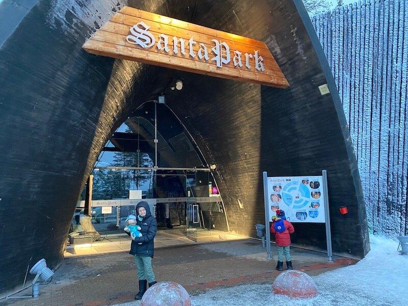 Image - Santa Park Rovaniemi entrance