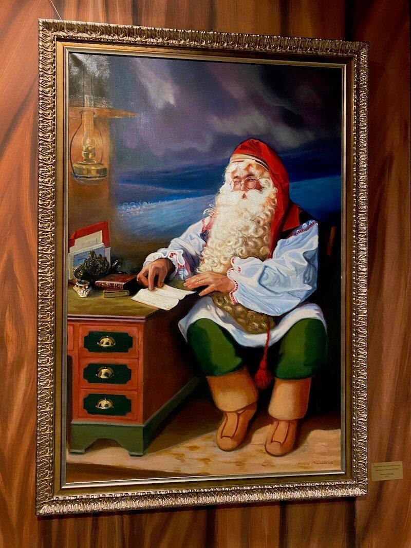 Image - Santa Park Rovaniemi painting