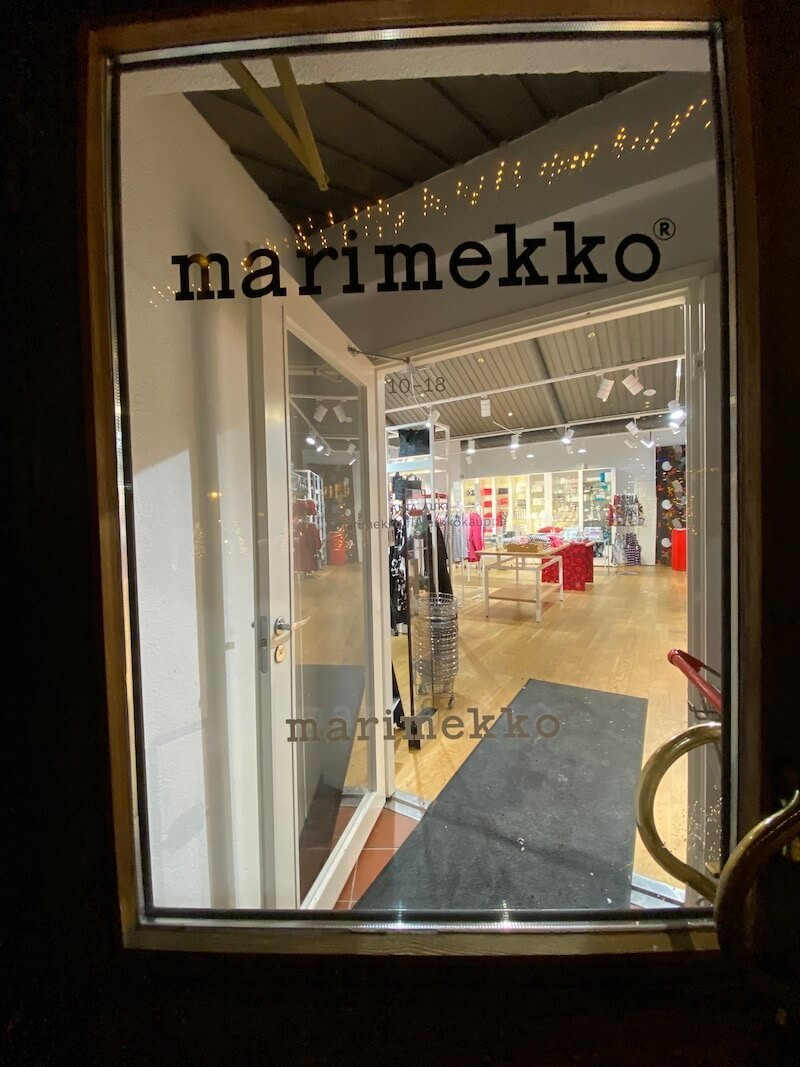 Image - marimekko outlet store doorway