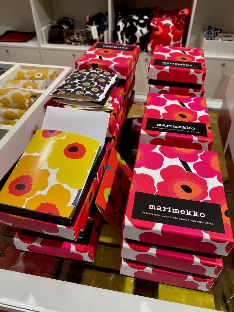 Image - marimekko outlet store finland boxed stationery