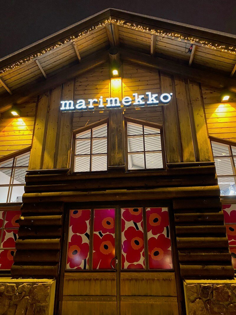 Image - marimekko outlet store finland exterior signage