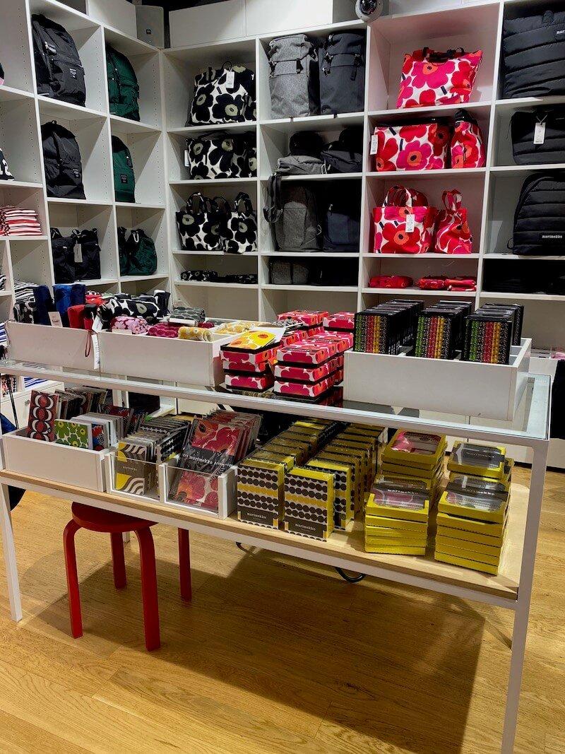 Image - marimekko outlet store finland interior