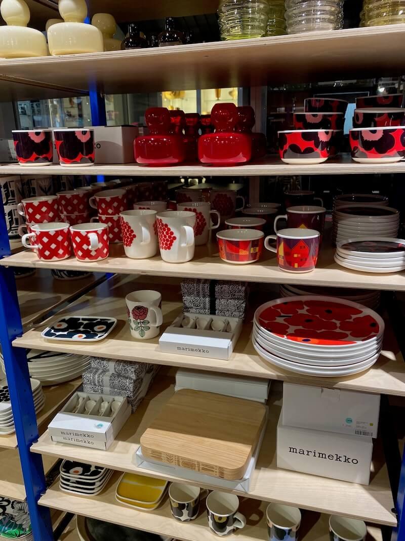 Image - marimekko outlet store finland mugs cups plates