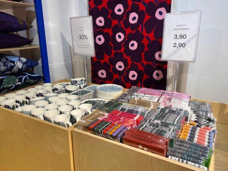 Image - marimekko outlet store napkins