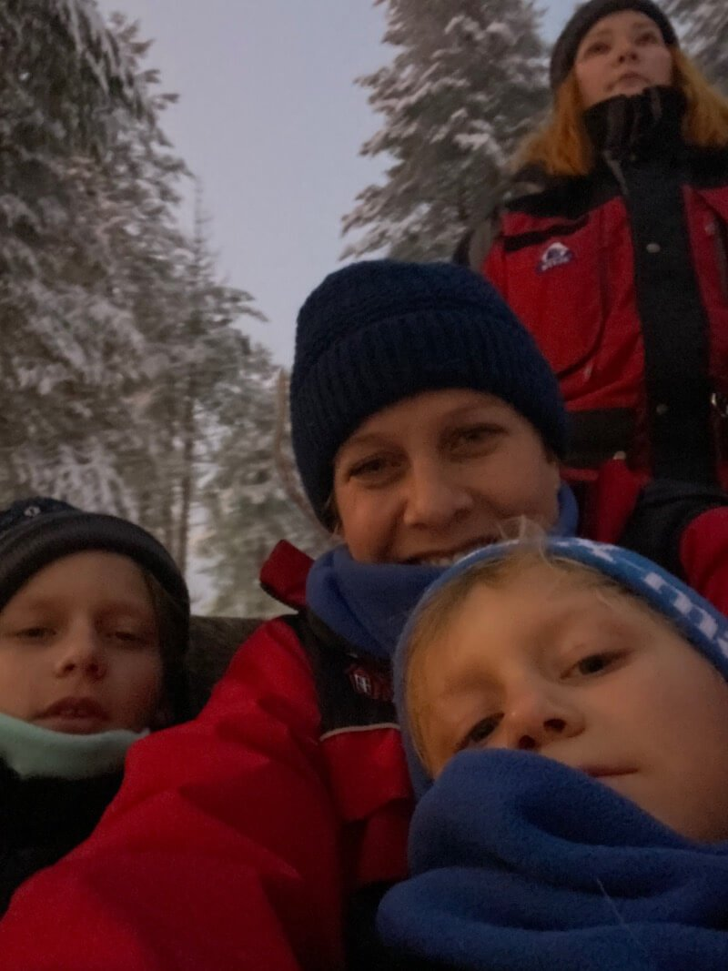 Image - santa claus holiday village reindeer ride rovaniemi with guide on sleigh