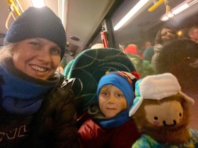 Image -santa express bus rovaniemi to santa village
