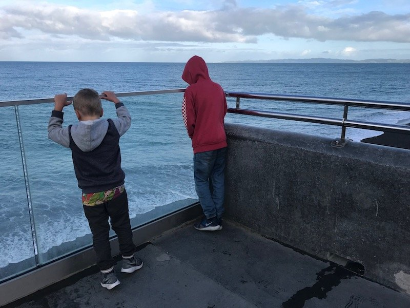 Napier boardwalk pic