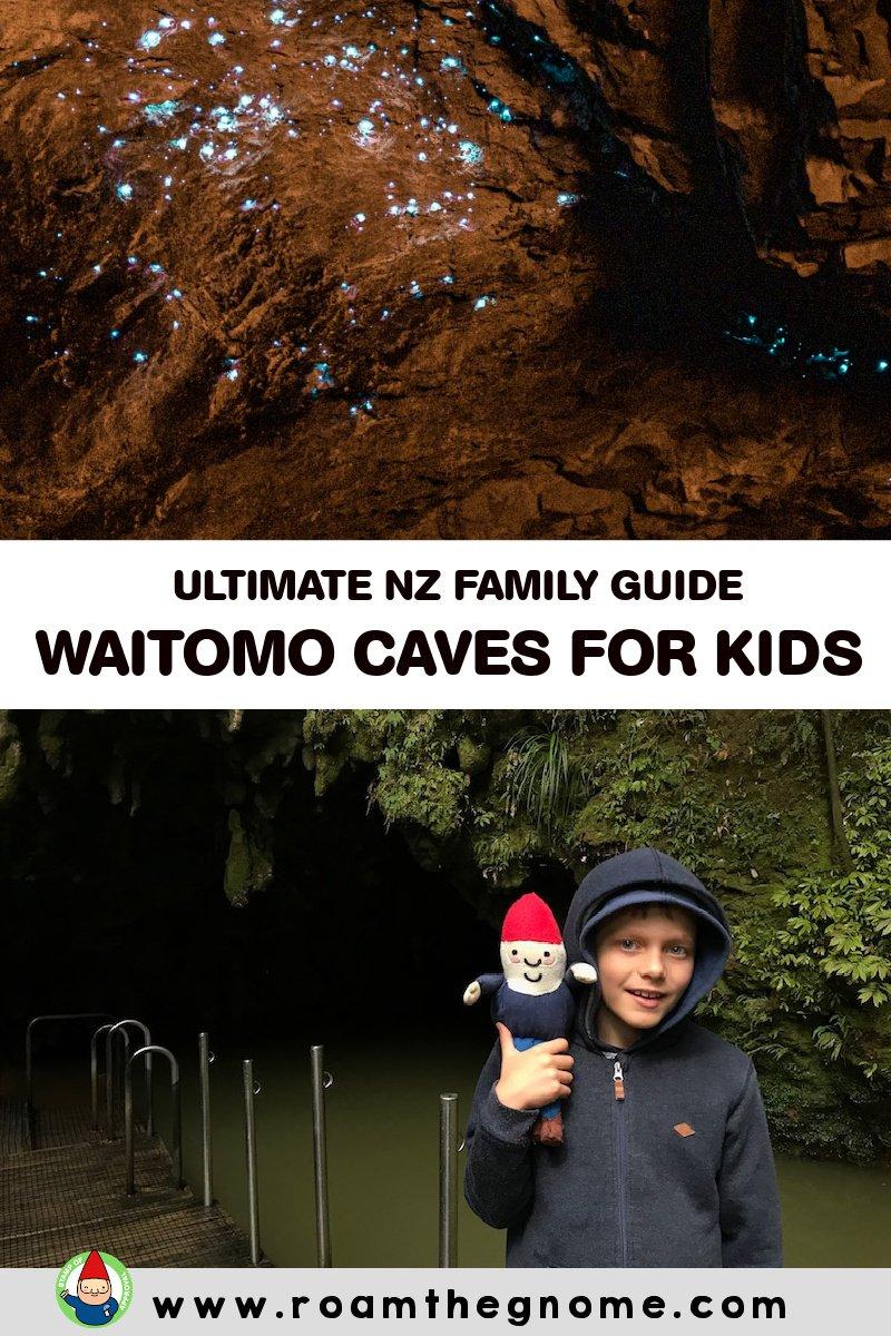 PIN WAITOMO CAVES TOUR