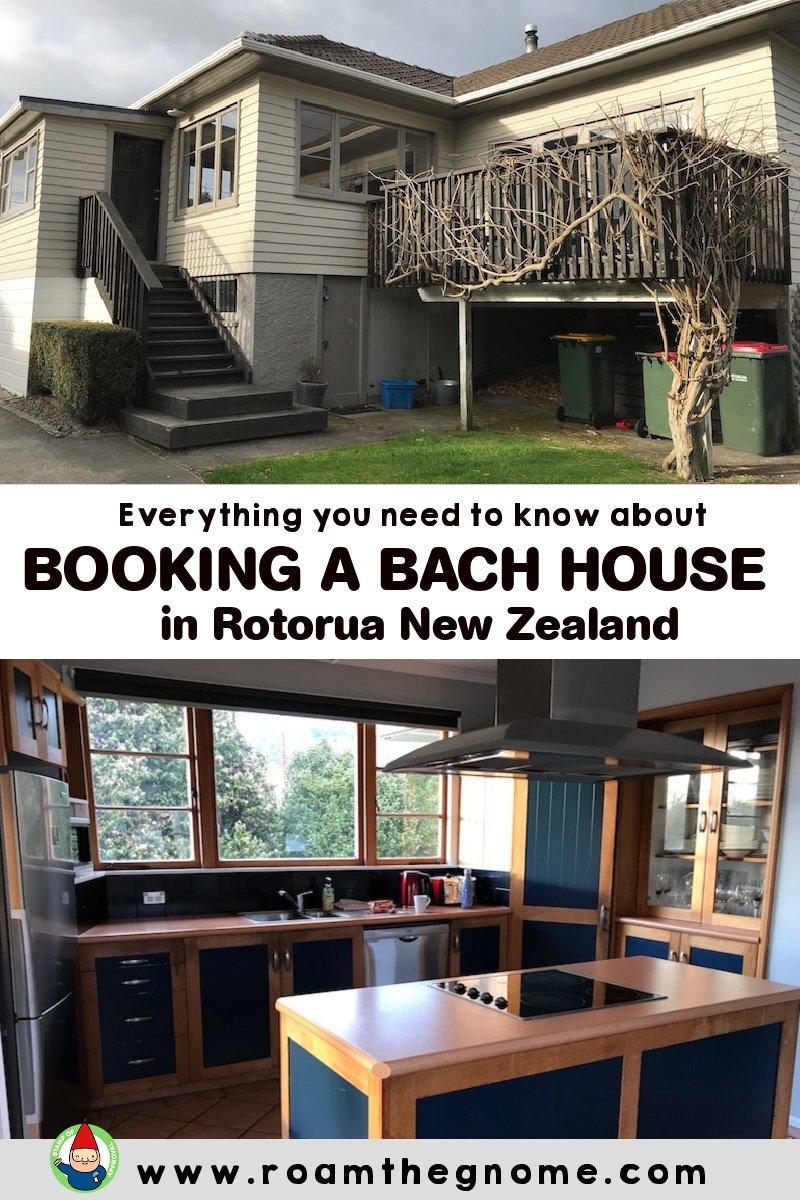 PIN bach house accommodation