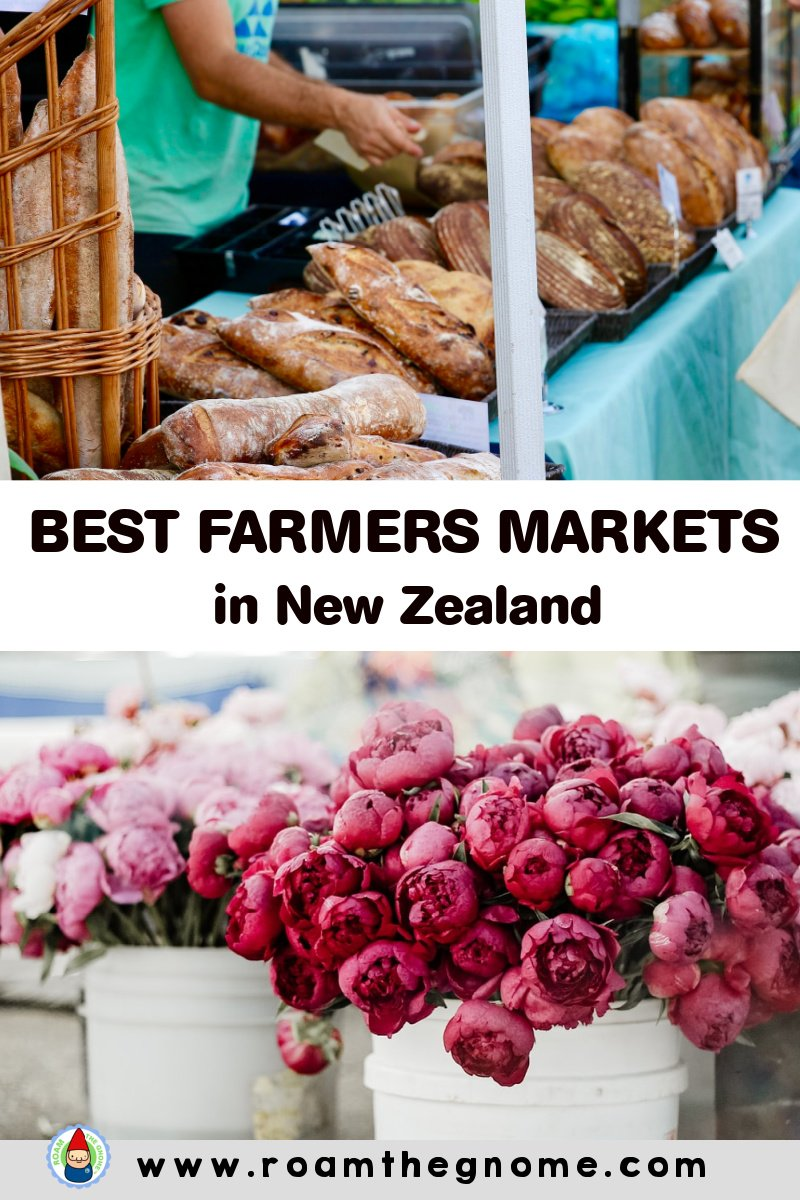 PIN new zealand farmers markets