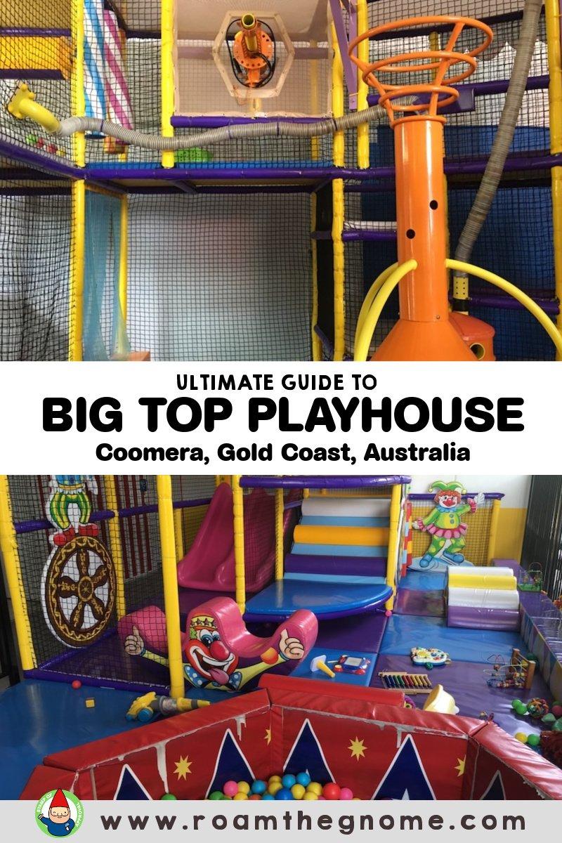 PIN big top playhouse