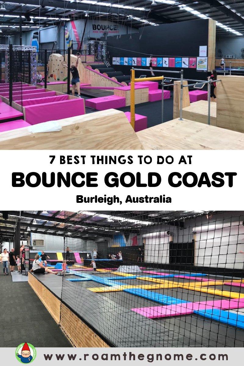PIN bounce gold coast