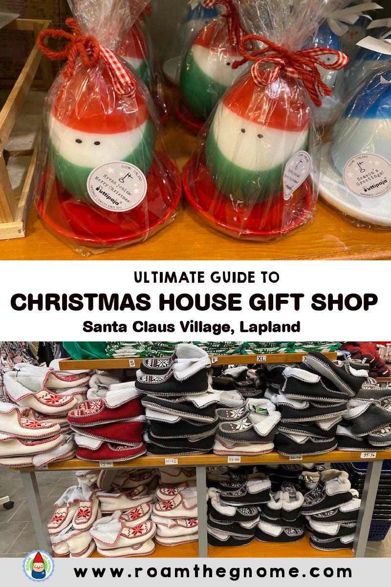 PIN christmas house shop