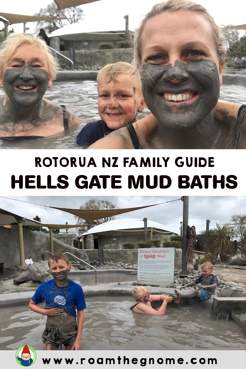 PIN hells gate mud baths rotorua