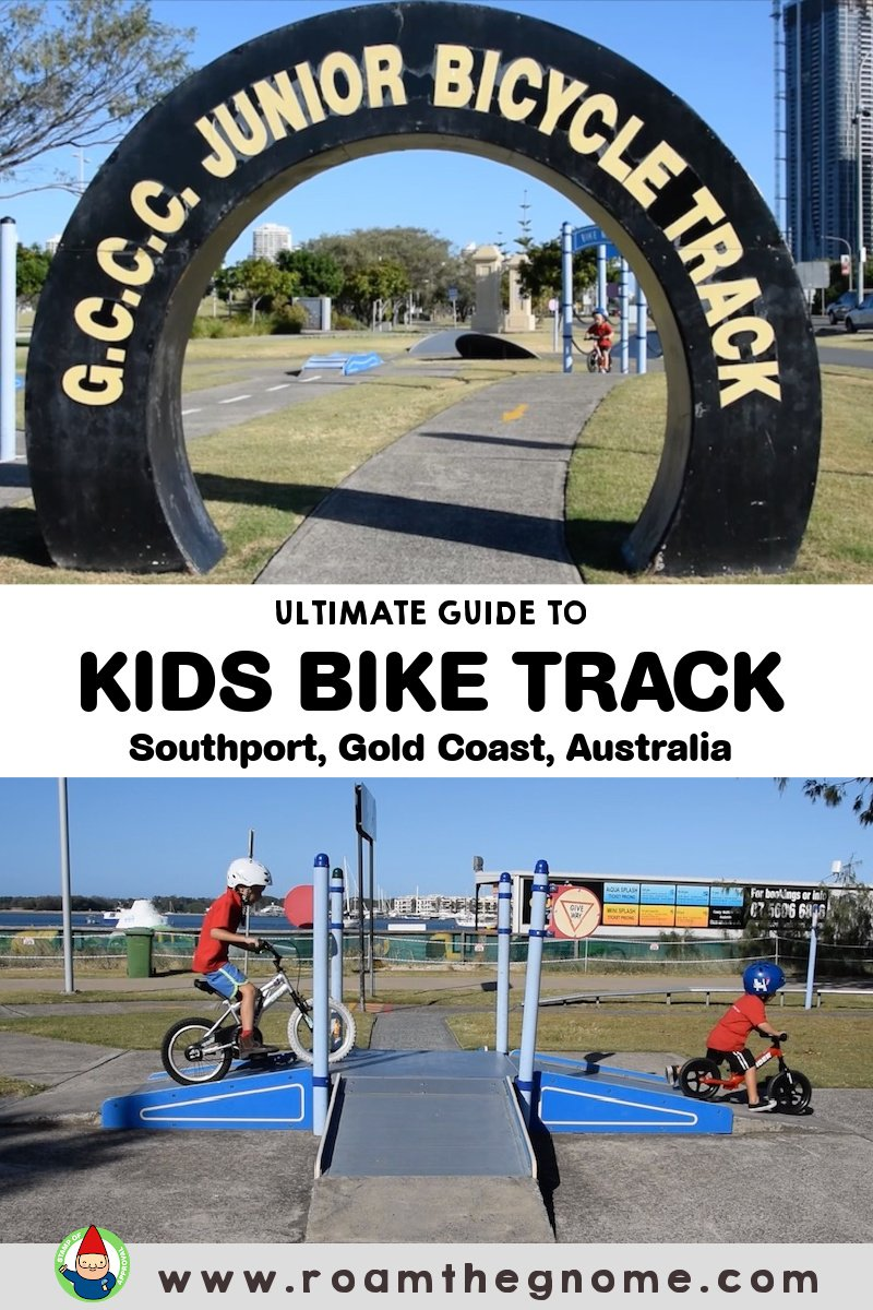 PIN kids bike track gold coast