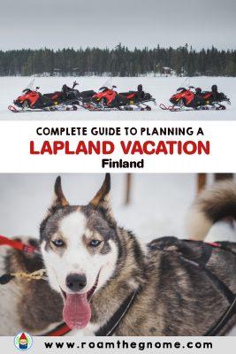 PIN lapland vacation