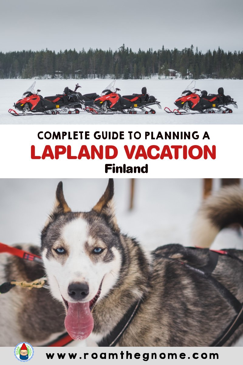 PIN lapland vacation