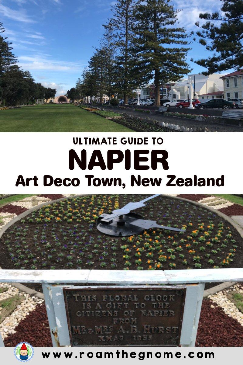 PIN napier art deco town pic