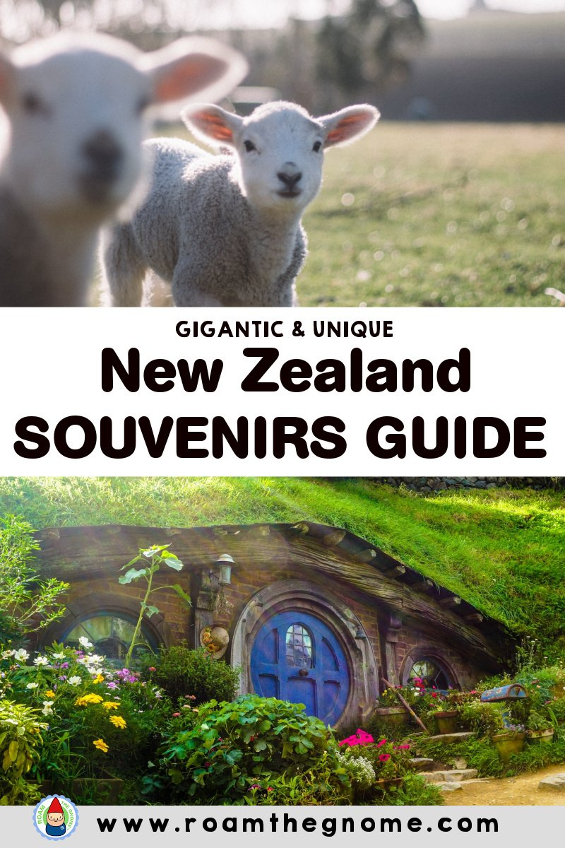 PIN new zealand souvenirs guide