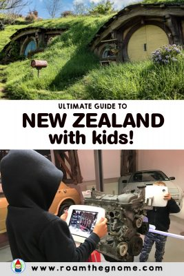 PIN new zealand with kids