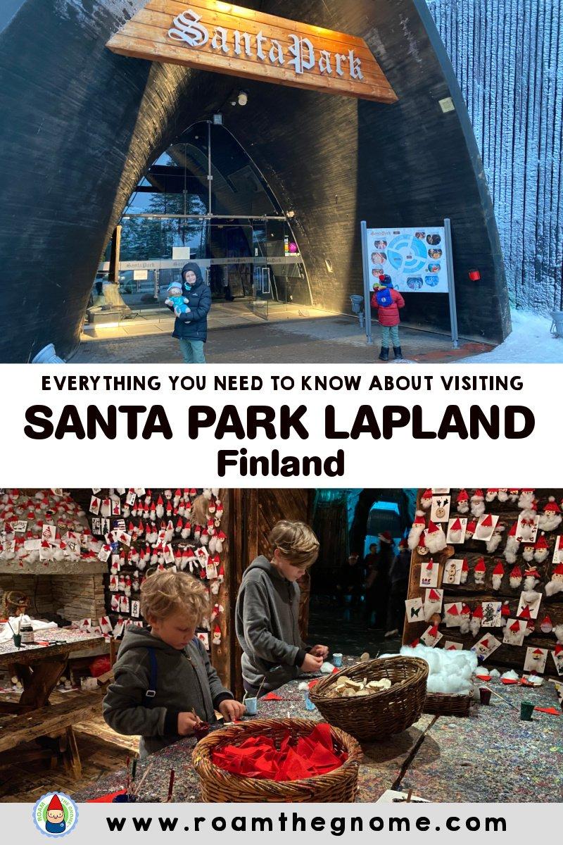 PIN santa park finland